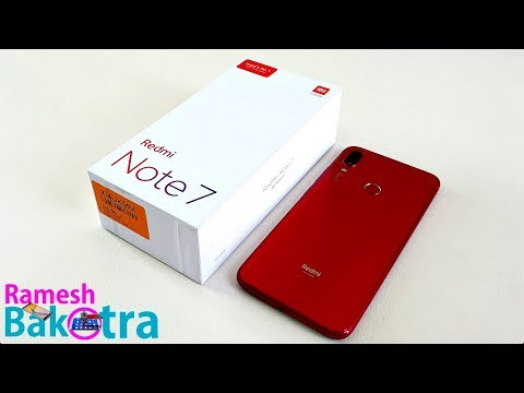 Redmi Note 7 Unboxing and Full Review - Thời lượng: 13 phút.