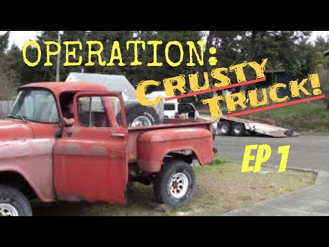 Operation Crusty Truck: Phase 1. Acquiring the Target