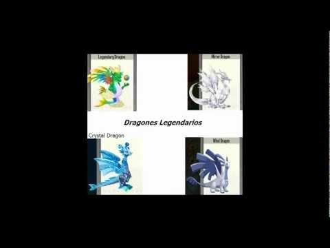 Como crear Dragones Hibridos Raros y Legendarios en Dragon City