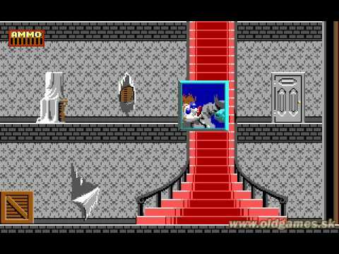 Dangerous Dave in the Haunted Mansion, Gameplay