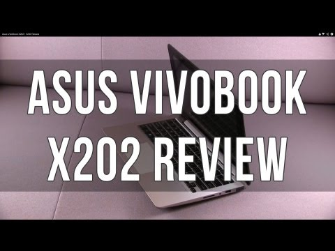Asus VivoBook X202E / S200 full Review