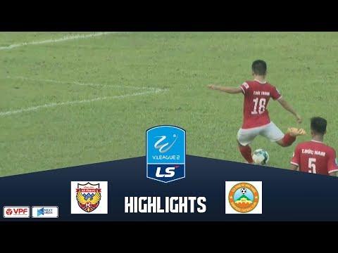 Hồng Lĩnh Hà Tĩnh chia điểm nhọc nhằn trước đội khách Bình Phước trên sân nhà | VPF Media - Thời lượng: 5 phút và 13 giây.