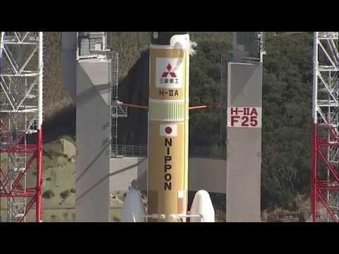 静止気象衛星「ひまわり8号」打ち上げクイックレビュー / Нiмаwаri-8/Н-IIА F25 Quiск Rеviеw - DomaVideo.Ru