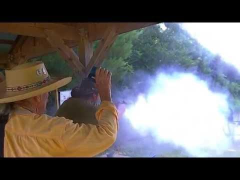"""Parson Delacroix"" shooting blackpowder"
