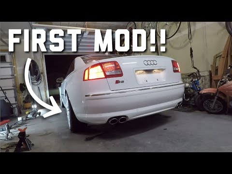 Audi S8 Wheel Spacers - How to Measure and Install