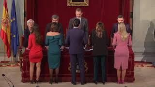 S.M. el Rey preside la entrega de despachos a la nueva promoción de la carrera judicial