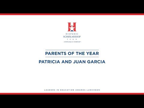 HSF 2015 LEA Parents of the Year...