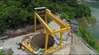 曾文水庫防淤隧道工程
