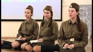"""Спектакль """"А зори здесь тихие"""" Б. Васильев - МХАТ-865, 2015 год"""