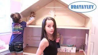 My Girl's Dollhouse | American Girl, Journey Girl, and Our Generation Dollhouse (WK 188) | Bratayley