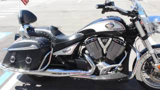 9. 2012 Victory Cross Country Classic LE Touring Motorcycle Review and Walk Around For Sale