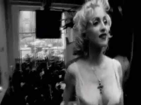 madonna dance on - Dancing is just better when its Madonna. Montage clips set to a mash up of stardust & daft punk. Watching her move is like pure crack to me.