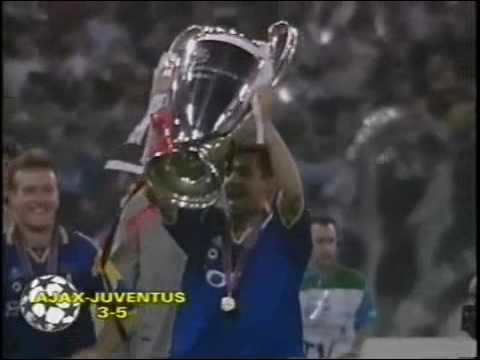 juventus campione d'europa 1996
