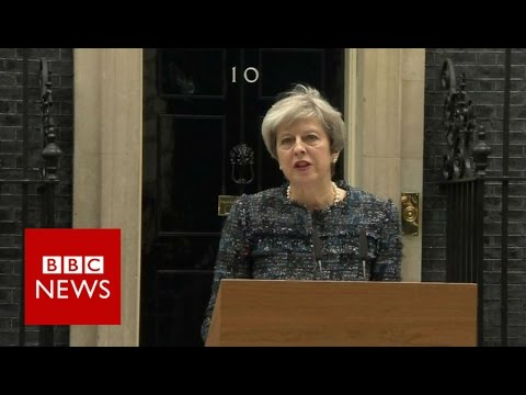 Theresa May accuses EU of trying to affect UK election - BBC News