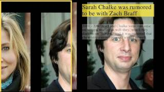 be creativo  Subscribe today and give the gift of knowledge to yourself or a friend Sarah Chalke Dating History1 : Sarah Chalke Dating History2 : Sarah Chalke was rumored to be with Zach Braff
