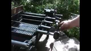 Как сделать механический мангал