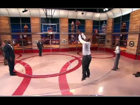 Terry - Kenny Smith and Jason Terry have a 3 Point Shooting contest to determine the Jet really is on Inside the NBA on TNT.