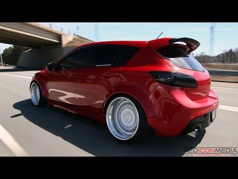 | Girl's Ride | Red Monster Bagged Mazdaspeed3
