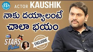 Actor Kaushik Exclusive Interview || Soap Stars With Anitha