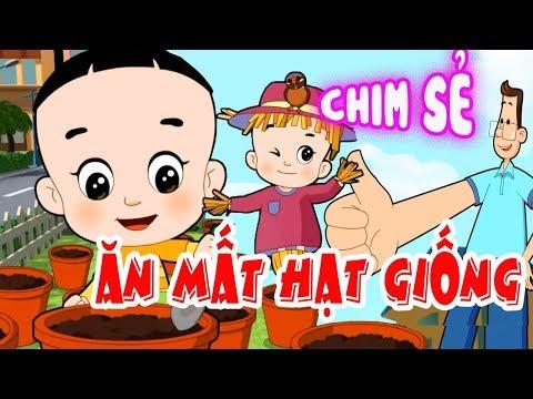 BỐ ĐẦU NHỎ CON ĐẦU TO (BDNCDT): Chơi Cùng Chim Sẻ - Phim hoạt hình biên soạn cho trẻ em 2019 - Thời lượng: 10 phút.