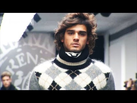 Ermanno Scervino Men Fall/Winter 2012-13 Full Show at Milan Men's Fashion Week | FashionTV FTV FMEN
