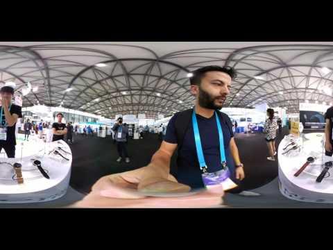 CES Asia 2016'yı 360 derece geziyoruz! (Türkiye'de İlk)