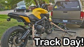 8. I RACED IT! Yamaha FZ09 Track Day