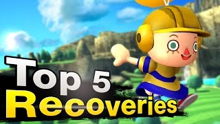 Top 5 Recovery Tier List by BeefySmashDoods