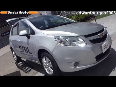 chevrolet sail Hatchback LTZ 2013 colombia video de carros auto show medellin 2012 FULL HD