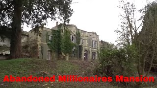 Video Abandoned Millionaires Mansion With Cars And Everything Left Behind MP3, 3GP, MP4, WEBM, AVI, FLV Maret 2018