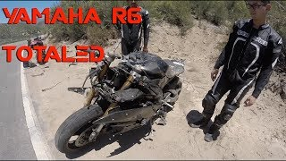 Video Motorcycle Crash | Yamaha R6 Totaled | Rider air lifted! MP3, 3GP, MP4, WEBM, AVI, FLV Mei 2019
