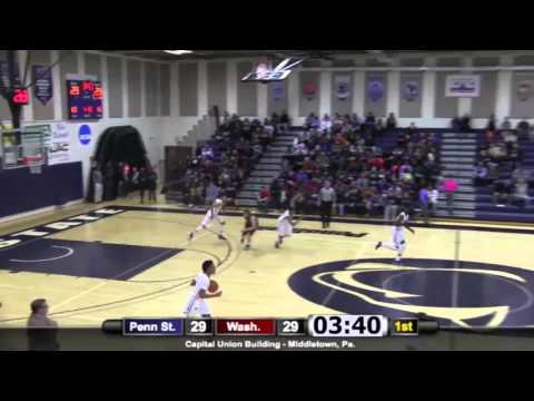 MBB: Penn State Harrisburg vs. Washington College Highlights