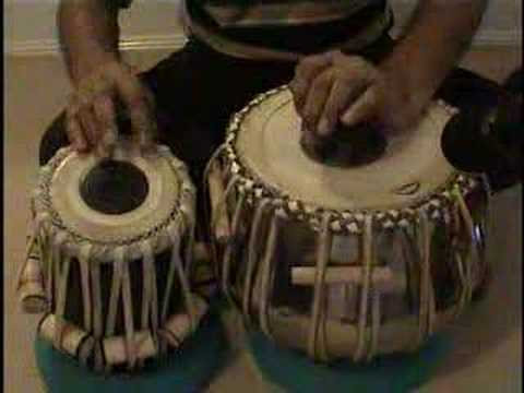 Tabla Lesson 8 by Venkat