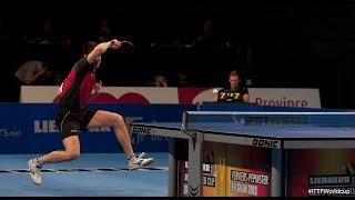Table Tennis Highlights, Video - Men´s World Cup 2013 Highlights: Dimitrij Ovtcharov vs Tang Peng (1/4 Final)