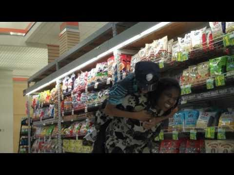 Crazy Woman Goes On Eating Rampage!