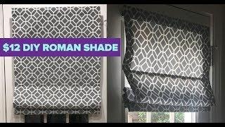 Video How To Make A Roman Shade From Mini Blinds - Cheap DIY Room Decor Ideas MP3, 3GP, MP4, WEBM, AVI, FLV September 2019