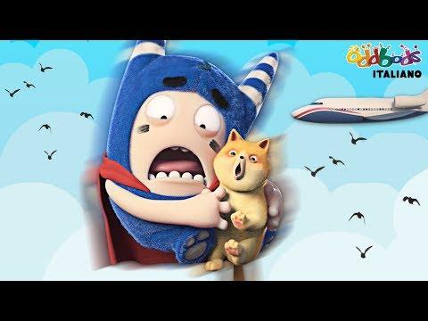 Oddbods   Supereroe   Cartoni Animati Divertenti per Bambini видео