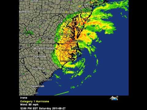 Hurricane Irene EYE OF THE STORM *Video Response*