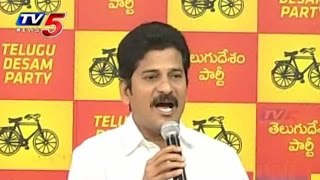 Telangana Power Crisis Due To Only KCR,Says Revanth Reddy : TV5 News