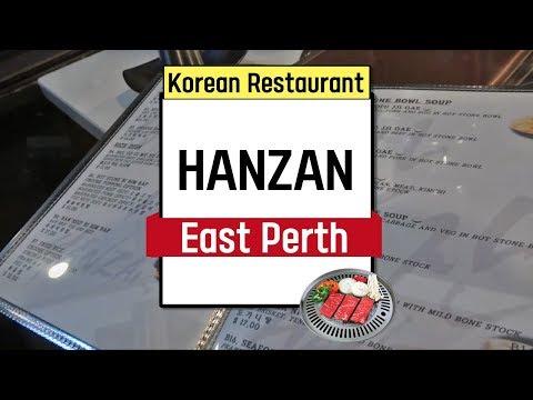 Perth Restaurant - Hanzan in East Perth - Korean Restaurant for BBQ