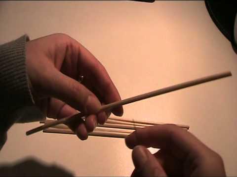 Mobile aus Strohhalmen basteln - Video Bastelvorlage