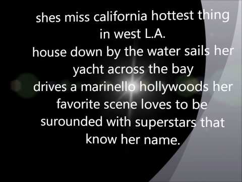 Dante Thomas - Miss California [HD] { Lyrics }