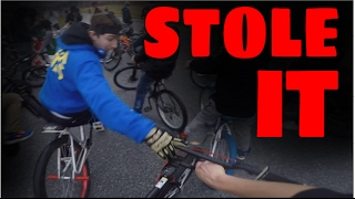 I STOLE MY BIKE BACK!!