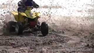 8. #9 Wet Snow - Suzuki LTZ 400 Winter ATV Zima Śnieg Quad Quadsport Z400