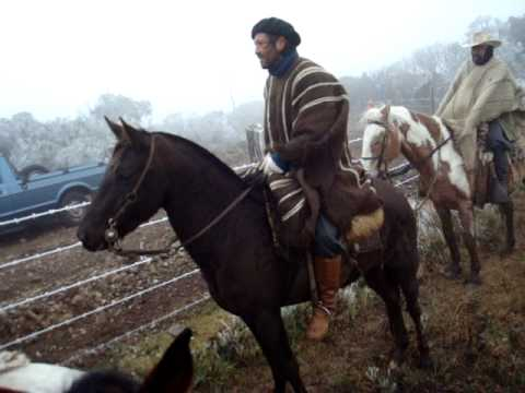 Cavalgada ao Morro da Antena, Fazenda Morro Agudo Urupema/SC