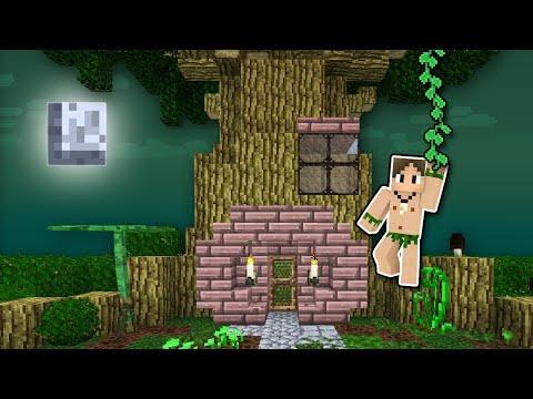 Minecraft Betweenlands #2: EU FIZ UMA CASA NA ÁRVORE!