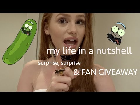 my life in a nutshell- surprises & fan giveaway!! | Madelaine Petsch