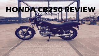2. Honda CB250 Review