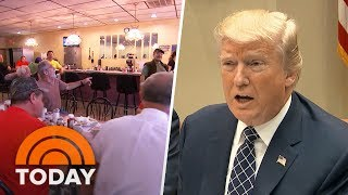 In the wake of the collapse of Republican efforts to repeal and replace Obamacare, a key Trump campaign promise, voters are sounding off about that and other issues in Washington. NBC national correspondent Peter Alexander reports from Wilkes-Barre, Pennsylvania. » Subscribe to TODAY: http://on.today.com/SubscribeToTODAY» Watch the latest from TODAY: http://bit.ly/LatestTODAYAbout: TODAY brings you the latest headlines and expert tips on money, health and parenting. We wake up every morning to give you and your family all you need to start your day. If it matters to you, it matters to us. We are in the people business. Subscribe to our channel for exclusive TODAY archival footage & our original web series.  Connect with TODAY Online!Visit TODAY's Website: http://on.today.com/ReadTODAYFind TODAY on Facebook: http://on.today.com/LikeTODAYFollow TODAY on Twitter: http://on.today.com/FollowTODAYFollow TODAY on Google+: http://on.today.com/PlusTODAYFollow TODAY on Instagram: http://on.today.com/InstaTODAYFollow TODAY on Pinterest: http://on.today.com/PinTODAYPresident Donald Trump Voters In Pennsylvania Speak Out After Health Care Bill Collapse  TODAY