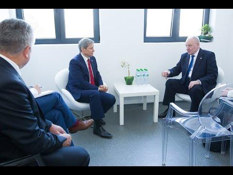Președintele Timofti a avut o întrevedere cu premierul român Dacian Cioloș